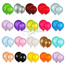 """10 x 12"""" Inch Latex Helium Balloons Birthday Christmas Party Holiday Decorations"""