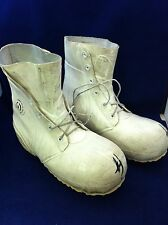 Used Genuine USGI Extreme Cold Weather Boots White Mickey Mouse 6 7 8 9 10 11 14