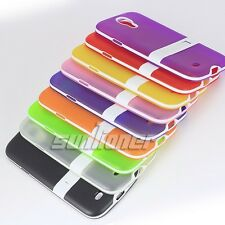 Gel TPU Stand Rubber Silicone Case Skin Cover Samsung Galaxy S4,S IV SGH-i337