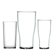 Solid Strong Plastic Glasses Reusable Party Beer CE Marked Soft Drinks Outdoor