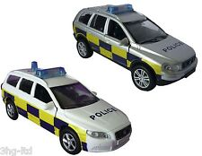 Teamsterz Emergency Response Silver or White Police Car Die Cast Light Sound New