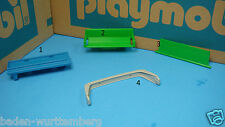 Playmobil 3139 car roll bar / 3501 tractor trailer seat / ambulance bed 132