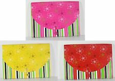 13 Pocket Expanding Coupon Check File Organizer Whimsical Flower Assorted Colors