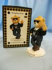 Regency Fine Arts Rude Figurines / Ornaments from the Naughty Bear Collection