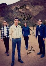ARCTIC MONKEYS Am SIGNED Autographed PHOTO Print POSTER Alex Turner CD Shirt 006