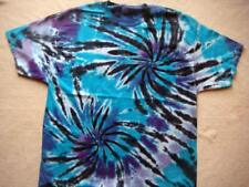 Heavy Weight DK Double Spiral Tie Dye T Shirt S,M,L,Xl, 2XL,3XL,4XL Tye Die