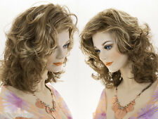 Long Medium Wavy Wig Pro Curly Blonde Brunette Red Grey Wigs