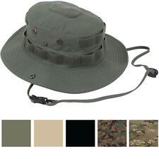 Tactical Rip-Stop Wide Brim Bucket Boonie Hat