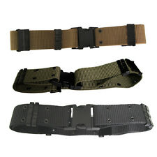 Men Cool Nylon Tactical Camouflage Belts Field Army Adjustable Canvas Camo Belts