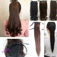 1 Pc 12 Styles New Stylish Pretty Hair Extension Long Pony-tail Ponytail Hair