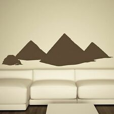 Egypt Pyramids Landmark Wall Sticker Modern Art Design Graphic Transfer CU13
