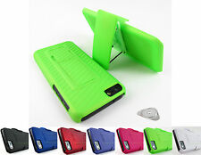 for Apple iPhone 5C  Belt Clip Holster Case Cover Combo Phone + PryTool