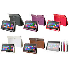 "Leather Stand Cover Case + Protector for 10.6"" Microsoft Surface RT Tablet"