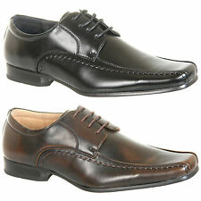 Mens New Leather Lined Formal Shoes Size 6 7 8 9 10 11 12 FREE SHIPPING