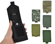 6Color Outdoor Tactical 1000D Molle Administrative & Cellphone Pouch Bag Black A