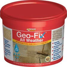 Everbuild Geo-Fix  All Weather Jointing Compound 14Kg - 3 Different Colours