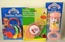 3 New Baby Toys Rattles and Teethers Baby Shower Crib Christmas Stocking Stuffer