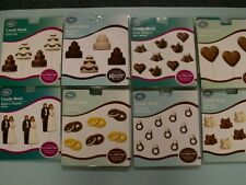 Wedding Theme Chocolate and Candy Molds Huge Variety Made in USA Fast Shipping