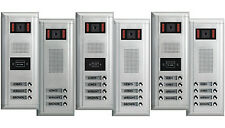 Multiple Buttons Apartments Video Door Entry Systems 2-wire series Thespa/Leda
