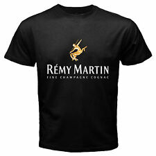 Remy Martin Champagne Cognac Logo Drink Alcohol Rum Black T Shirt Size S To 3XL