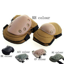 Outdoor Army Camo Military Tactical Combat Knee & Elbow Pads Cycling Skating New