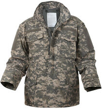 ACU Digital Camo M-65 Field Coat Army M65 Jacket w/ Jacket Liner