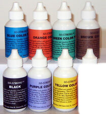 SO-Strong® liquid urethane resin colourants in 57gms bottles. Smooth cast