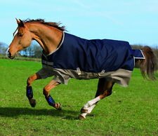 Horseware Amigo Mio Turnout Weide- & Regendecke lite in navy/tan