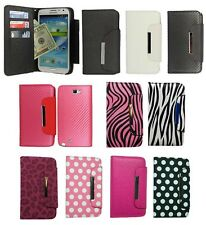 Wallet Flip Pouch Hard Cover Case For Samsung Galaxy Note 3 III N9000 Accessory