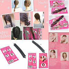 Hot New French hair braiding tool roller with hook Magic hair Styling  WHS432