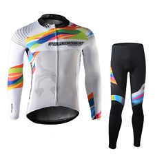 SPAKCT Cycling Suits Long Sleeve Jersey & Tights Pants-Provence