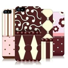 HEAD CASE DESIGNS CAKE CAFE PATTERN HARD BACK CASE COVER FOR APPLE iPHONE 5 5S