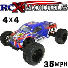 RC Monster Truck Buggy Race Car Remote Control 4WD Electric Ver Of Nitro/Petrol