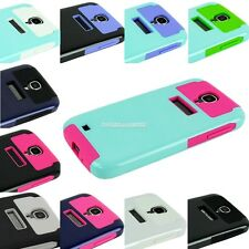 Hybrid Rubber Rugged Combo Hard Case Cover For Samsung Galaxy S IV S4 i9500 FV88