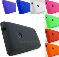 for Nokia Lumia 520 & PryTool Bundle Soft Case Rubber Gel Skin Cover Accessory
