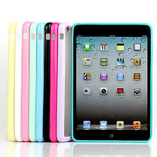 Colorful Clear Hybrid  Bumper Back Tpu+Pc Transparent Case Cover For Ipad Mini