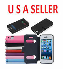I PHONE 5 CASE WITH WINDOW IN DIFFERENT COLORS