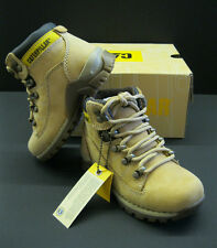 CaterpillarJuniors Chamonix Mid Cut Honey Suede Laced Boots Sizes UK 13 - 6