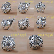 20/22mm Silver Plated Harmony Ball Pendant Baby Angel Caller Mexican Bola CAGE