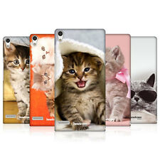 HEAD CASE CATS PROTECTIVE SNAP-ON HARD BACK CASE COVER FOR HUAWEI ASCEND P6