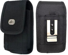 Vertical Rugged Canvas Case for Cell Phones fits with Otterbox Commuter on it
