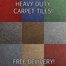 Brand New Medium Contract Heavy Domestic Quality Retail Carpet Tiles - Flooring