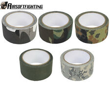 5Colors Military Tactical Hunting Multi-functional Camouflage 5cm Tape 10M ACU A