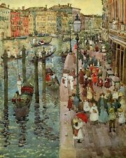 Prendergast the-grand-canal-venice-18 art A2/A3  giclee Print Picture