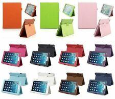 For iPad Air 5 Pouch Cover Leaher Flip Stand Auto Wake Sleep Case