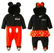 Baby Girls Micky/Minnie Costume Outfit Romper One Piece Clothes For 0-24 Months