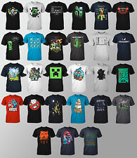 Choose Your MINECRAFT Steve Run Creeper Table Boss Boy Youth T-Shirt S-XL NEW