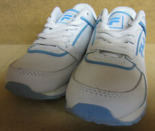 Fila Kid's Milano White/Angel Fall Lace up Trainers