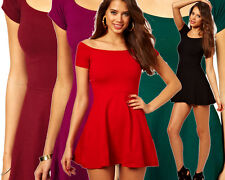 MOTEL ROCKS CATALINA SKATER DRESS IN RED, BLACK, PINK, GREEN, PAISLEY & MORE