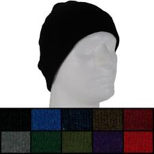 Knit Beanie Plain Solid Skull Cap Winter Ski Snow Board Toque Tuque Unisex Women